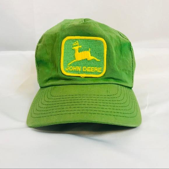 5a394e097831f John Deere Other - Vintage John Deere Hat Snap Back   Patch